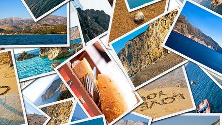 5 fotografií A4 vytištěných na profi fotopapíru