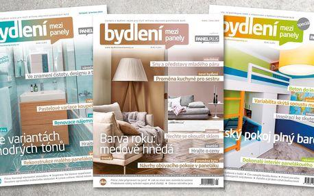 Předplatné časopisu Bydlení mezi panely