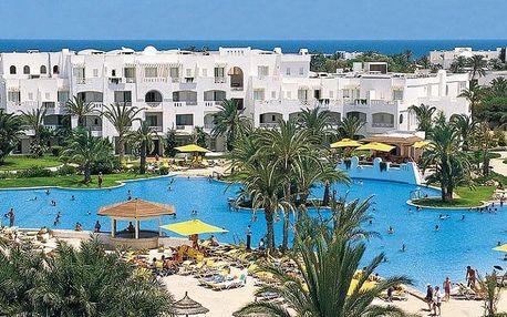 Tunisko, Djerba, letecky na 8 dní all inclusive