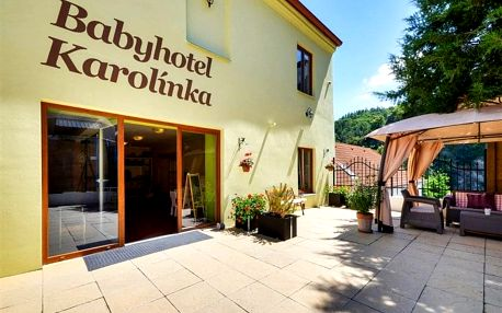 Vranov nad Dyjí - Babyhotel KAROLÍNKA, Česko