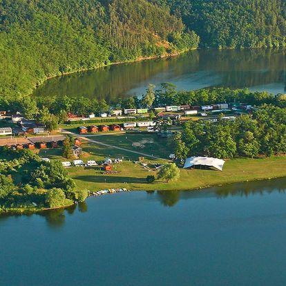 Dovolená u přehrady Výrovice až pro 5 osob