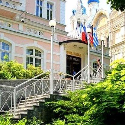 Wellness pobyt s polopenzí v Karlových Varech pro 2 osoby na 8 dní ve 4* hotelu Eliška.