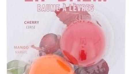 2K Lip Balm vyživující balzám na rty pro ženy balzám na rty 2,8 g + balzám na rty 2,8 g Mango Cherry
