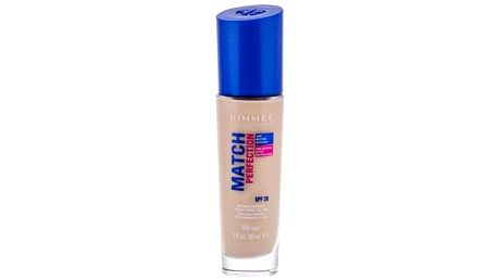 Rimmel London Match Perfection SPF20 30 ml tekutý make-up pro ženy 100 Ivory