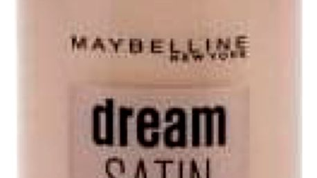 Maybelline Dream Satin Liquid SPF13 30 ml rozjasňující makeup pro ženy 4 Light Porcelain