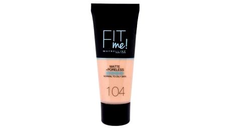 Maybelline Fit Me! Matte + Poreless 30 ml matující makeup pro ženy 104 Soft Ivory