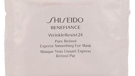 Shiseido Benefiance Wrinkle Resist 24 12 ks maska na oči s retinolem pro ženy