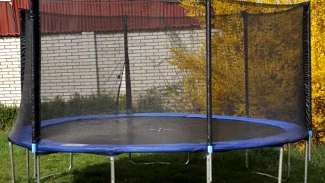 Trampolína OmniJump s ochrannou sítí 396 cm
