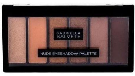 Gabriella Salvete Nude Eyeshadow Palette 12,5 g paletka očních stínů pro ženy