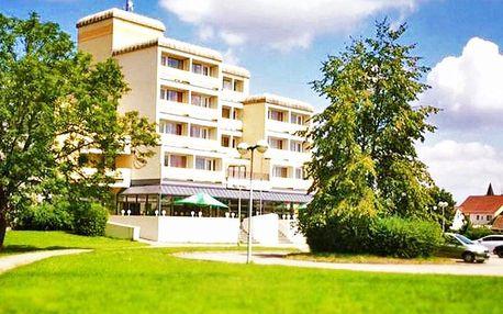 Jižní Čechy ve Veselí nad Lužnicí v hotelu s wellness neomezeně a polopenzí – i termíny přes léto