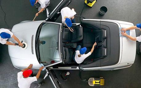 Poukaz na služby čištění auta: 600–2500 Kč