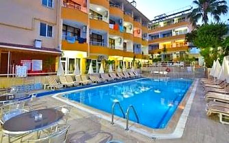 Turecko - Alanya letecky na 8-15 dnů, all inclusive