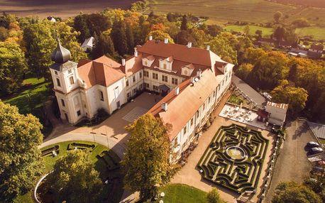 Čokoládová prohlídka zámku Loučeň a labyrintárium