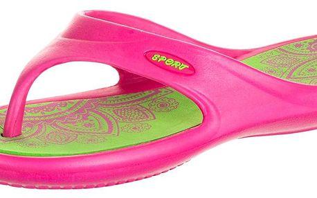 Sport Fashion Dámské žabky barevné