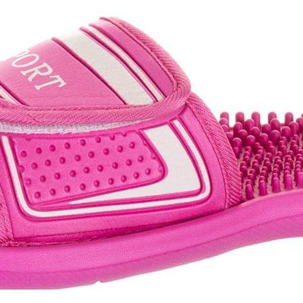 Sport Fashion Dámské masážní pantofle Sport na suchý zip