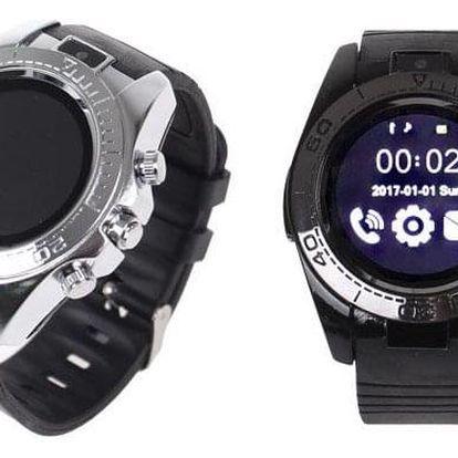 Chytré hodinky kulaté smart