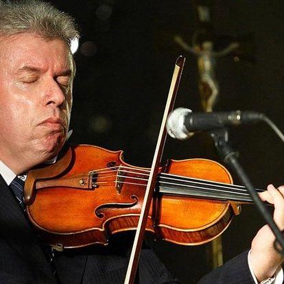 Vstupenka na houslový koncert Jaroslava Svěceného