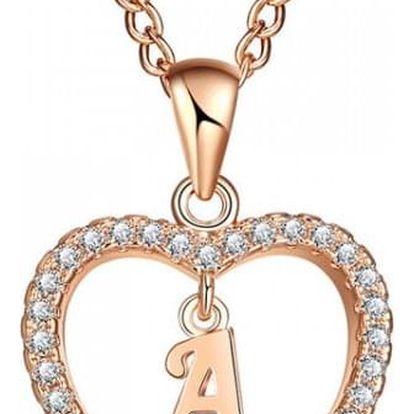 Dámský náhrdelník s písmeny abecedy - 26 variant