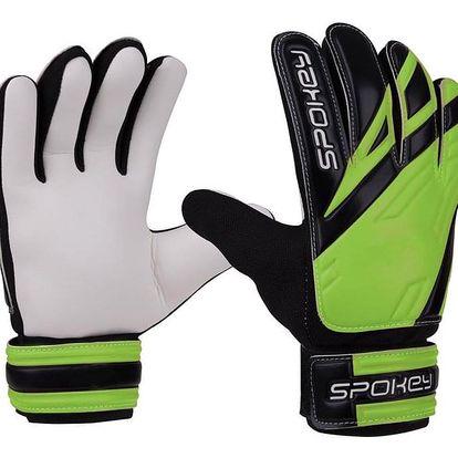 Spokey HOLD brankářské rukavice zelené 4