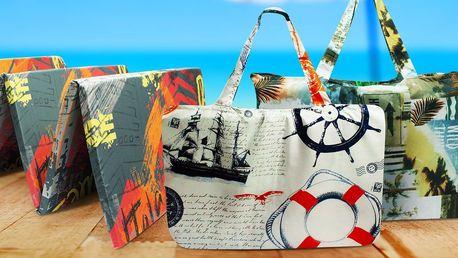 Rozkládací plážové lehátko s taškou: 4 vzory