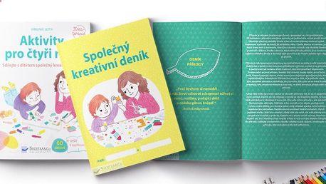 Kreativní dvojkniha pro děti (3–12 let) a rodiče
