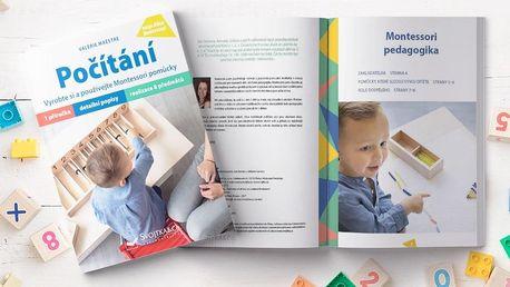 Kniha Počítání s pomůckami podle Montessori
