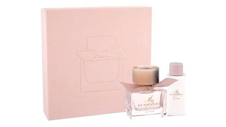 Burberry My Burberry Blush dárková kazeta pro ženy parfémovaná voda 50 ml + tělové mléko 75 ml