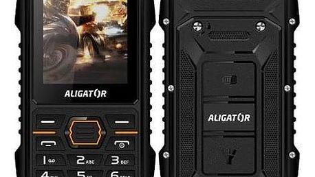 Mobilní telefon Aligator R15 eXtremo černý (AR15BB)
