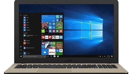 Asus VivoBook X540NA-GO230T černý/zlatý (X540NA-GO230T)
