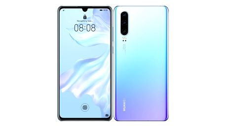 Mobilní telefon Huawei P30 - Breathing Crystal (SP-P30DSCOM)