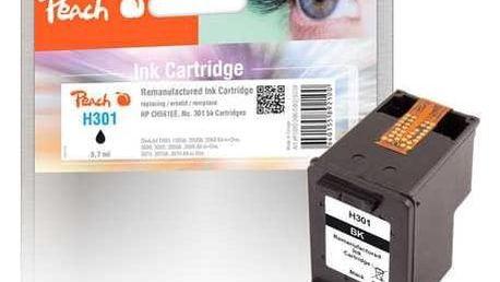 Inkoustová náplň Peach HP 301,225 stran, kompatibilní černá (316238)