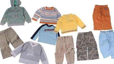 Balíček 10ks oblečení kluk vel. 86