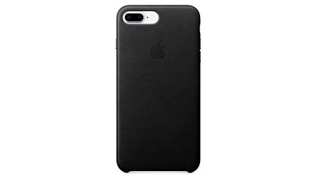 Apple Leather Case pro iPhone 8 Plus / 7 Plus černý (MQHM2ZM/A)