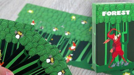 Dětská karetní hra Forest pro 1–4 hráče