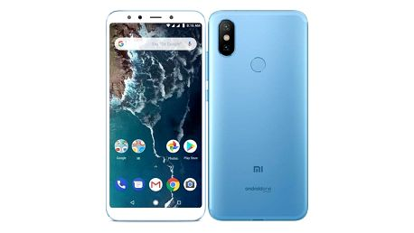 Mobilní telefon Xiaomi Mi A2 64 GB modrý (22202)