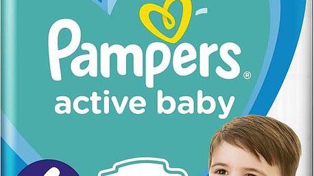 PAMPERS Active Baby 6 (13-18 kg) 56 ks GIANT PACK – jednorázové pleny