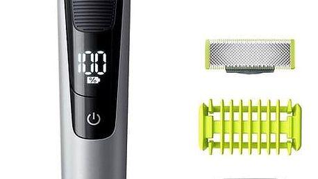Zastřihovač vousů Philips OneBlade Pro QP6620/20 Face + Body černý + DOPRAVA ZDARMA