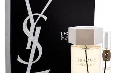 Yves Saint Laurent L´Homme dárková kazeta pro muže toaletní voda 100 ml + toaletní voda 10 ml