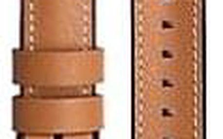 Samsung kožený pro Galaxy Watch GP-R805BR 22mm hnědý (GP-R805BREEBAB)
