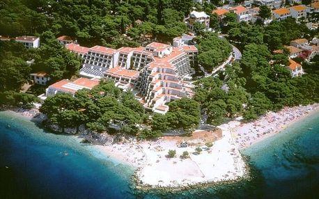 Chorvatsko - Brela na 6 dnů, polopenze