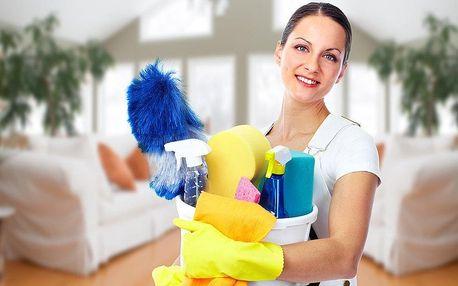Profesionální úklid domácnosti včetně mytí oken