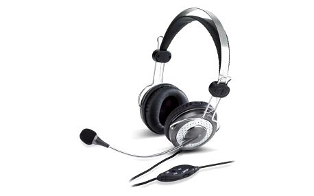 Headset Genius HS-04SU černý/stříbrný (31710045100)