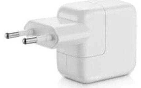 Nabíječka do sítě Apple 12W pro iPhone/iPad (MD836ZM/A) bílá