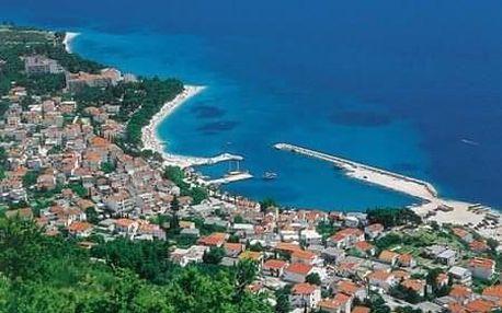 Chorvatsko - Baška Voda na 6 dnů, polopenze