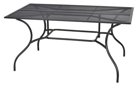 Tradgard ZWMT-83 54602 Zahradní kovový stůl - obdélník 90 x 150 cm