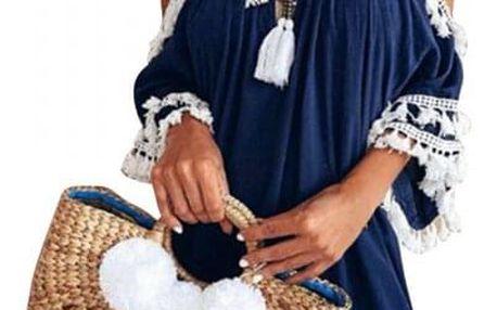 Dámské šaty bez ramínek Pasqualle