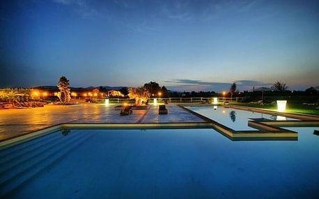 Italská Umbrie na 6 dní pro dva: snídaně, wellness, bazén a golf