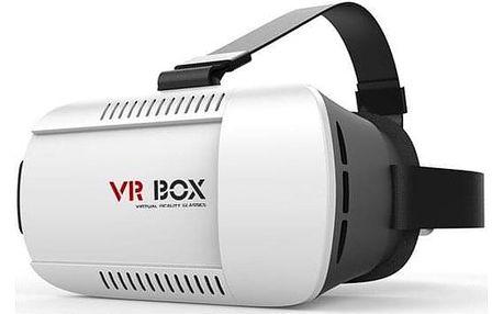 Brýle pro virtuální realitu CPA Halo 3D VR-X2 (VR BOX) bílé (HAPPY-3D-VR-X2)