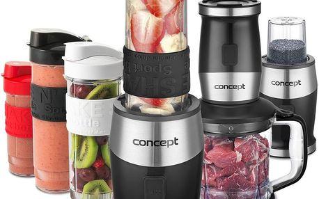 Concept SM3390 Fresh&Nutri multifunkční mixér, 700 W + láhve 2 x 570 ml + 400 ml, černá