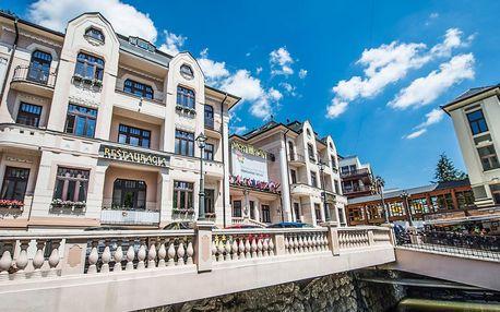 Oblíbený hotel MOST SLÁVY *** s polopenzí a koupáním